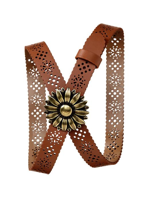 Gap Daisy Cut Out Belt $ 7.99