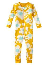 Daisy print sleep one-piece