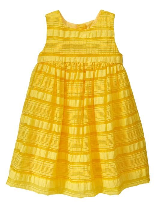 Gap Multi Stripe Organza Dress $ 17.99