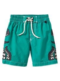 Octopus swim trunks