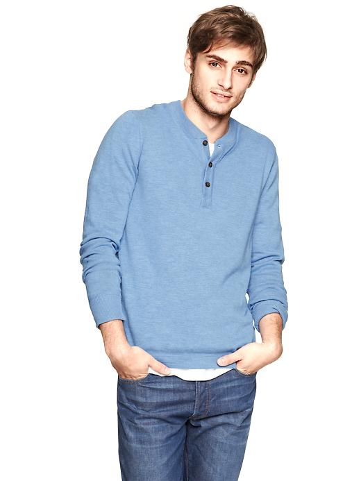 Gap Cotton Slub Henley $ 30.99