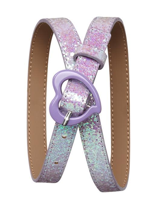 Gap Glitter Heart Belt $ 7.99
