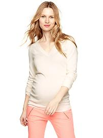 Luxlight V-neck pullover
