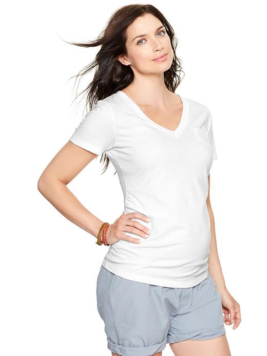 Gap Maternity Essential V-Neck Tee