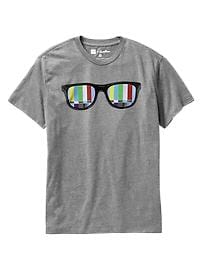 Gap + Threadless Technicolor T