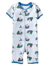 Ship zip sleep romper