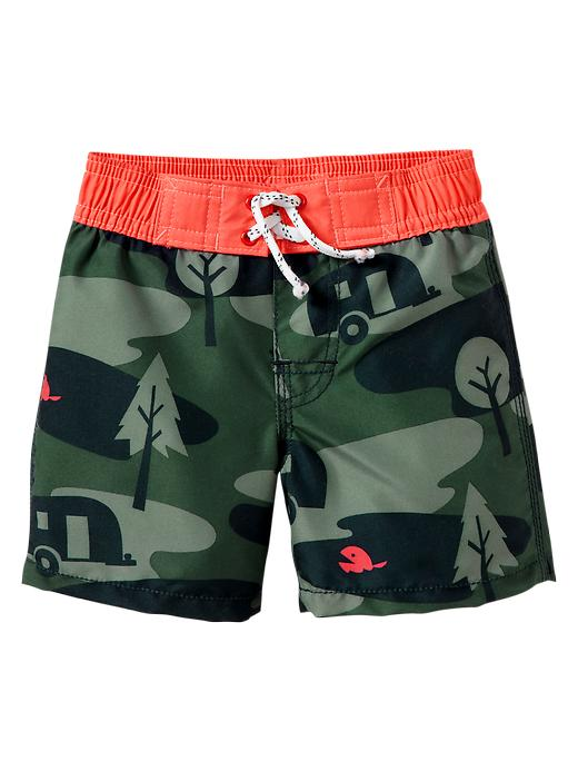 Gap Camo Swim Trunks $ 14.99