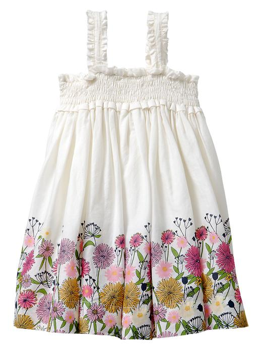Gap Smocked Floral Sundress $ 30.99