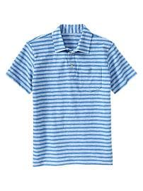Mini-stripe polo