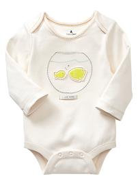 Mommy and daddy fish bodysuit