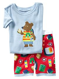 Bear short sleep set