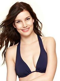 Halter underwire top