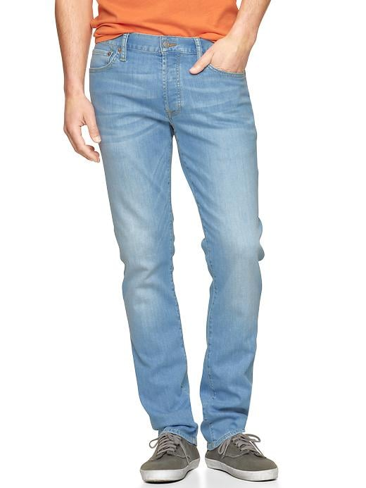 Gap 1969 Authentic Skinny Fit Jeans Sky Wash $ 59.95