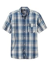 1969 plaid utility shirt