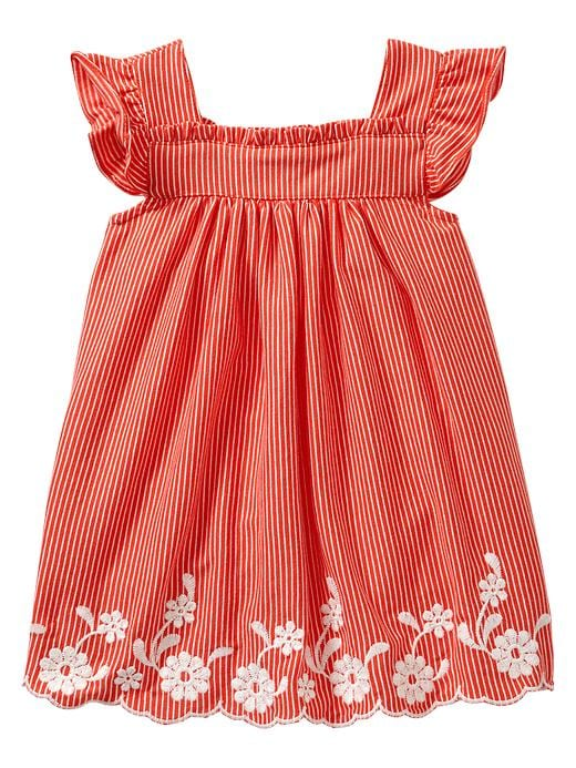 Gap Flutter Eyelet Dress $ 26.95