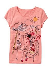 Summer graphic T