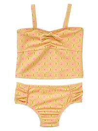 Bow tankini two-piece