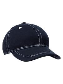 Blue French terry baseball hat