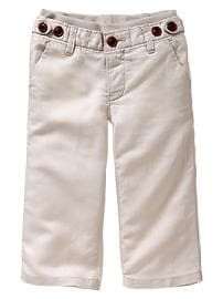Adjustable linen pants