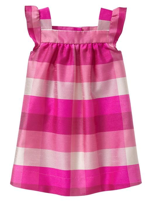 Gap Plaid Flutter Dress $ 39.95