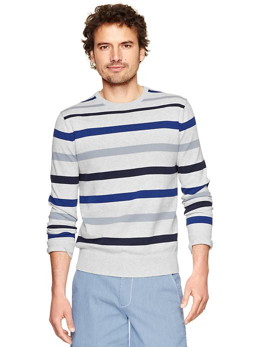 Gap Multi Stripe Crewneck Sweater $ 44.95