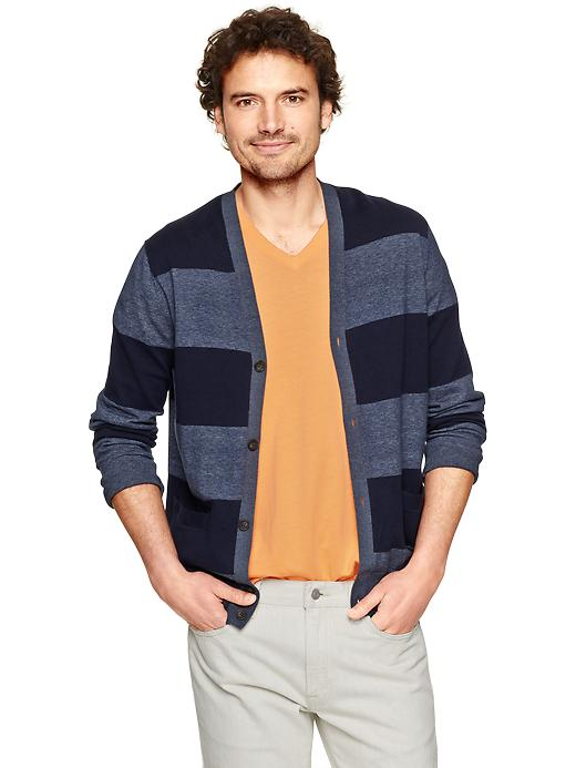 Gap Indigo Cotton Cardigan $ 44.95