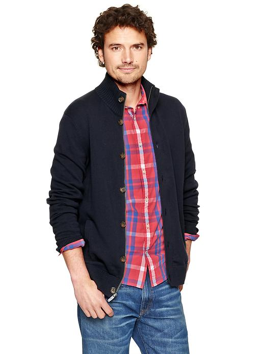 Gap Zip Cardigan $ 59.95