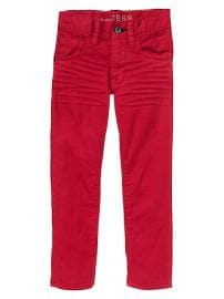 1969 skinny fit red jeans