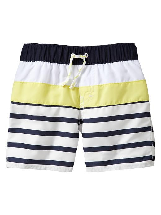 Gap Color Pop Striped Swim Trunks $ 19.95