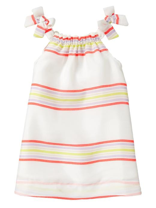 Gap Striped Bow Dress $ 34.95