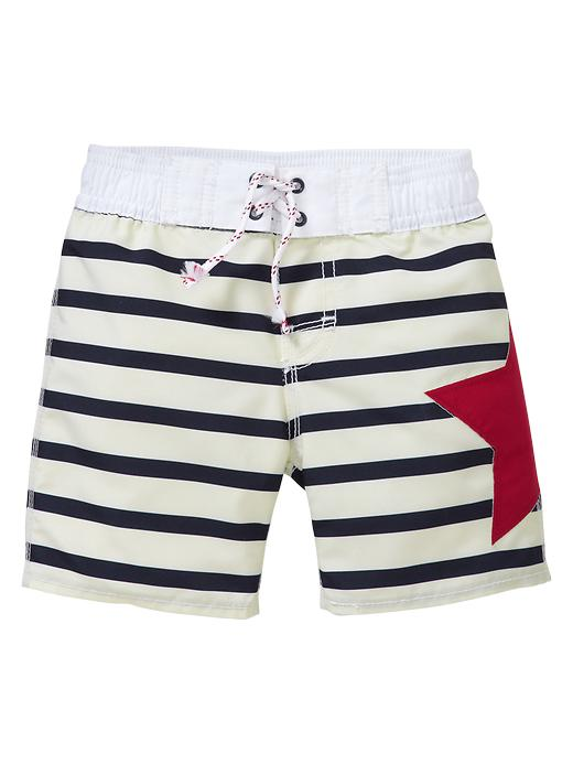 Gap Stars And Stripes Swim Trunks $ 19.95