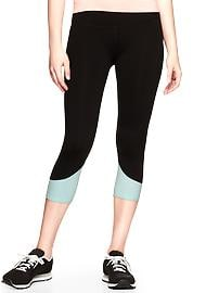 GapFit gFast power colorblock capris