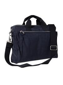 Soft canvas briefcase