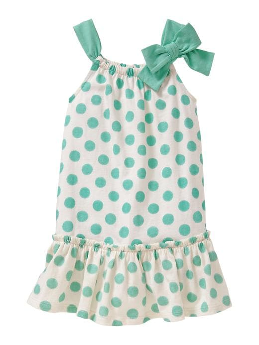 Gap Bow Dot Dress $ 22.95