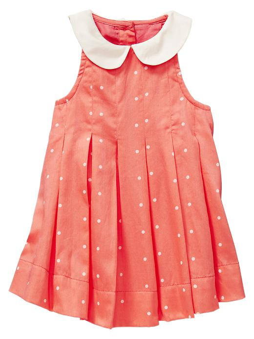 Gap Peter Pan Pleated Dress $ 34.95