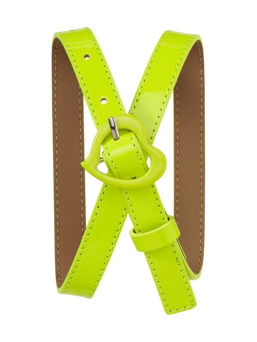 Gap Neon Heart Belt $ 12.99