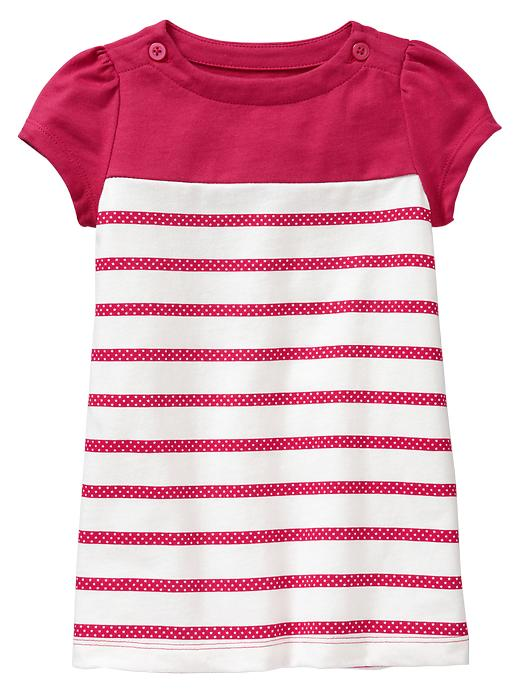 Gap Striped Puff Dress $ 22.95