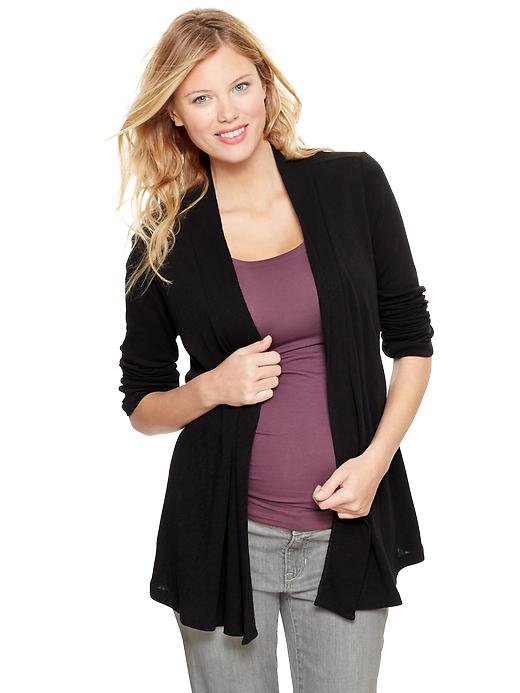 Gap Womens Maternity Knit Open Cardigan