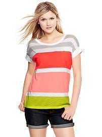 Market striped T