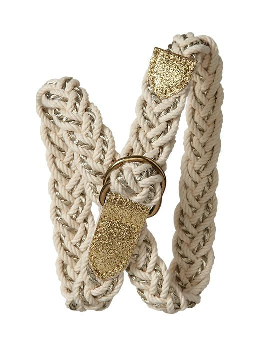 Gap Braided Metallic Belt $ 16.95