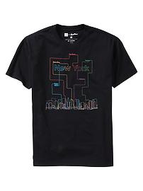 Gap + Threadless NY Subway T