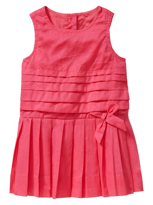 Gap Pleated Bow Dress $ 34.95