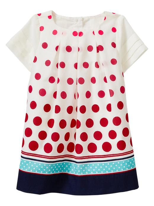 Gap Polkadot Pleated Dress $ 29.95