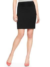 Foldover pencil skirt