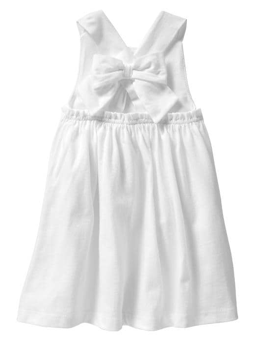 Gap Back Bow Dress $ 22.95