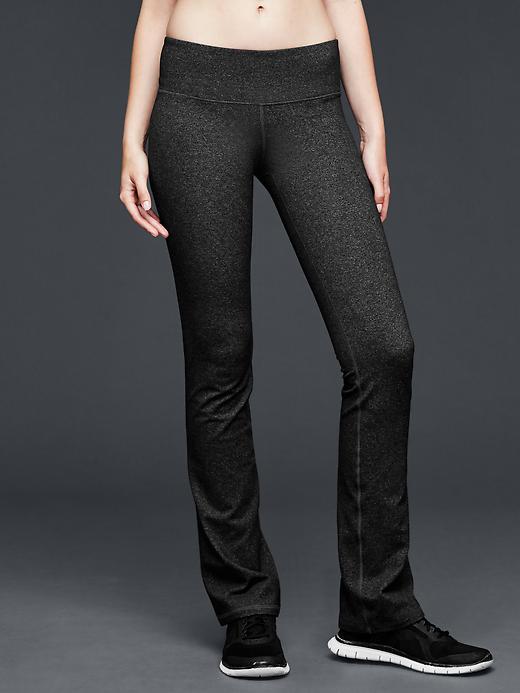 Gap Women Gapfit Gdance Heathered Pants Size XS Regular - Charcoal heather