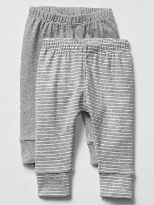 Gap Favorite Leggings 2 Pack Size 18-24 M - Gray