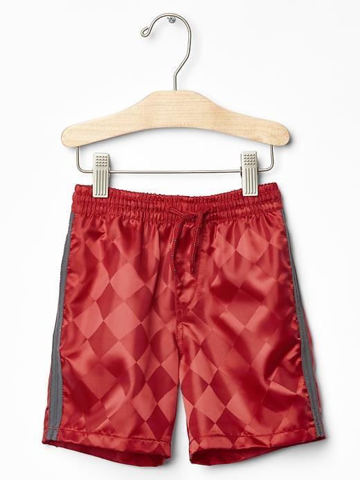 Gap Baby Diamond Field Shorts Size 2 Yrs - Pure Red Icon