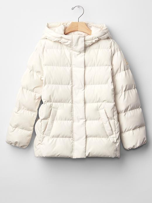 Gap Girls Coldcontrol Puffer Size XS - Sloe gin