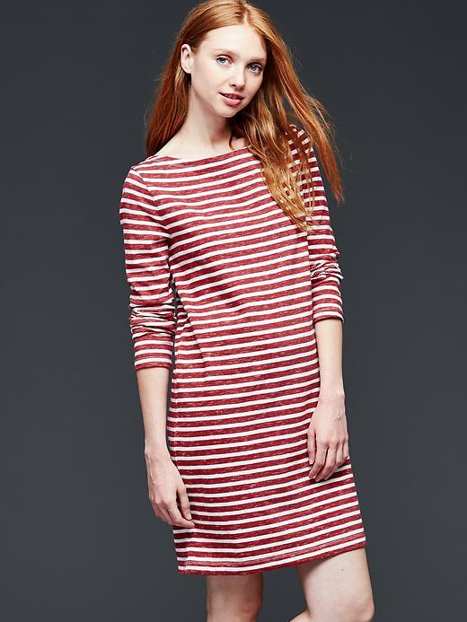 Gap Striped Shift Dress Size XS - Red stripe